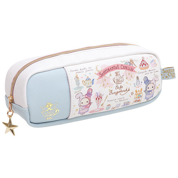 Sentimental Circus Pen Case Pencil Pouch Shappo Spica Cafe Twins San-X Japan