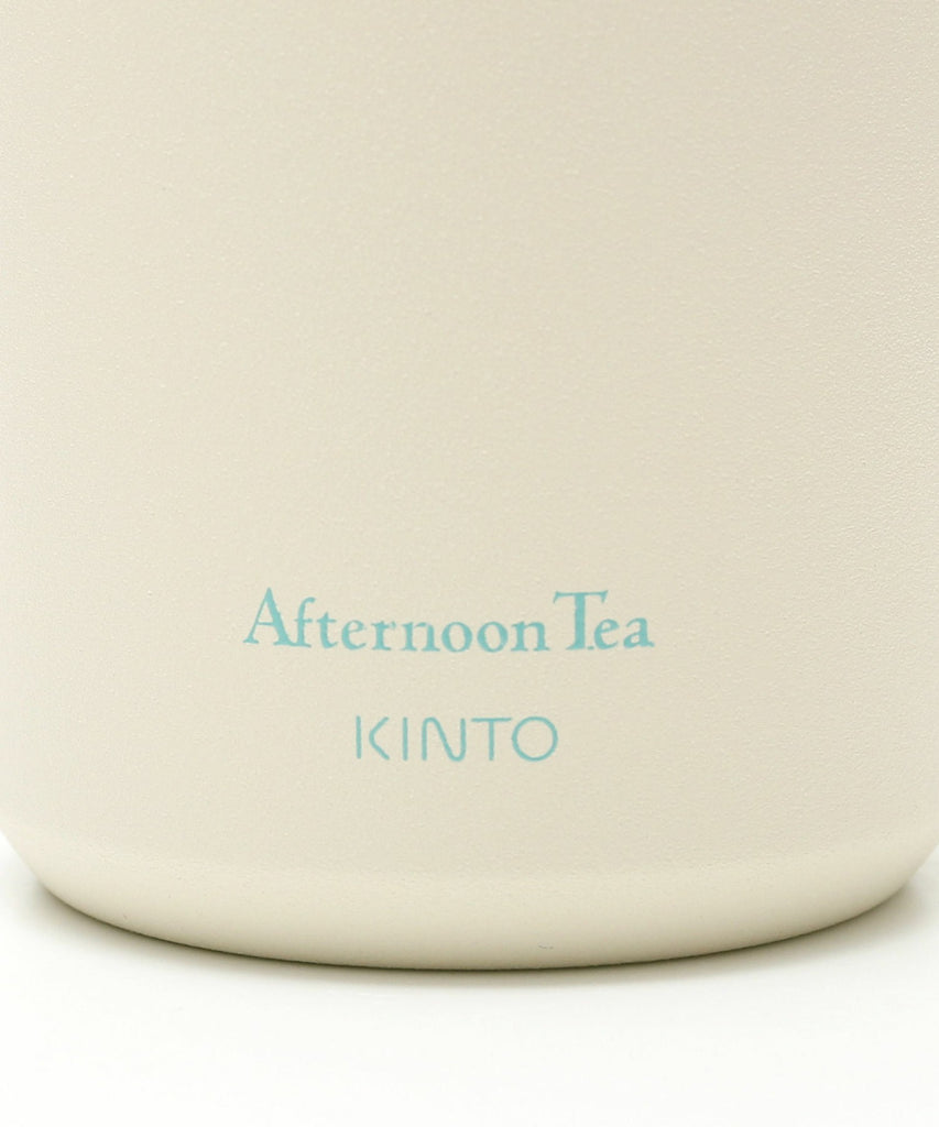 KINTO Stainless Travel Tumbler 350ml Off White Afternoon Tea Japan