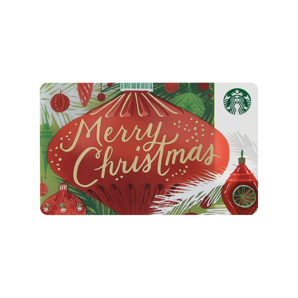 Starbucks Card Merry Christmas 2017 Starbucks Japan