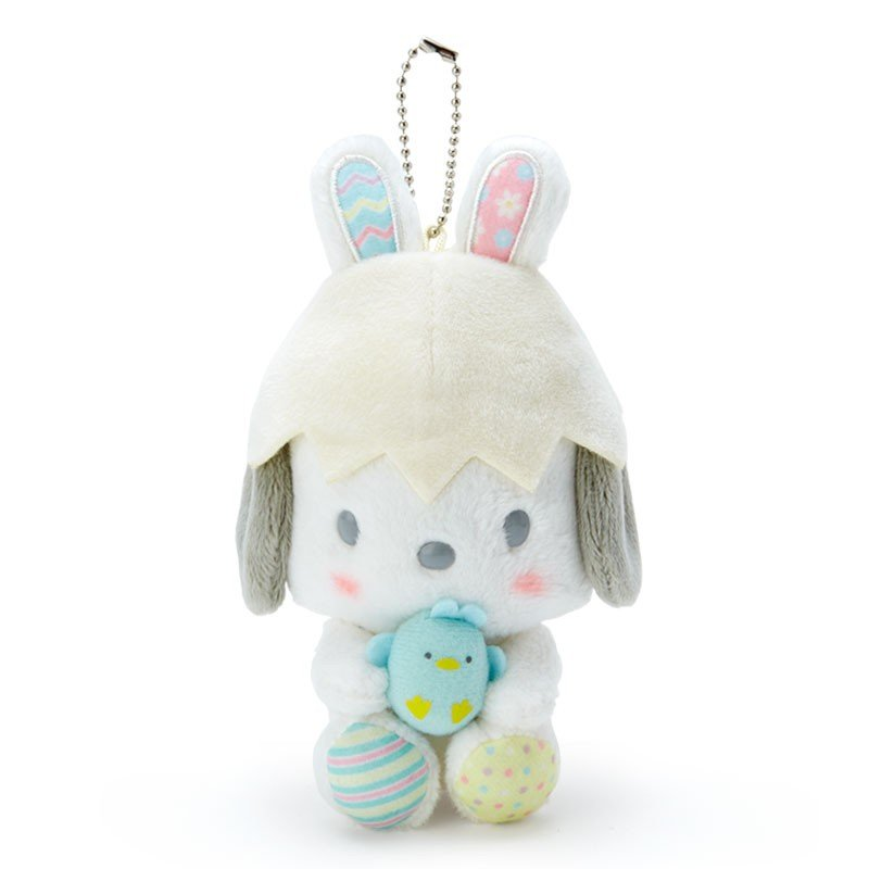 Pochacco Plush Mascot Holder Keychain Easter Sanrio Japan 2020
