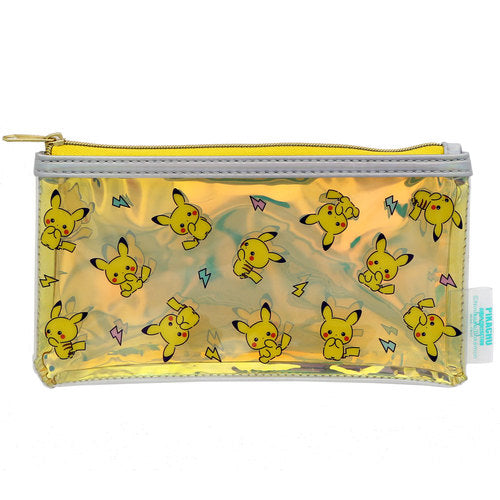Pikachu Girly Collection Pen Case Pencil Pouch Yellow Pokemon Center Japan