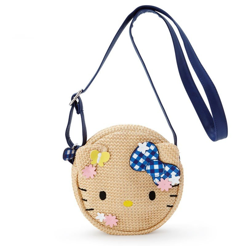 Hello Kitty Kids Pochette Bag Basket Style Sanrio Japan