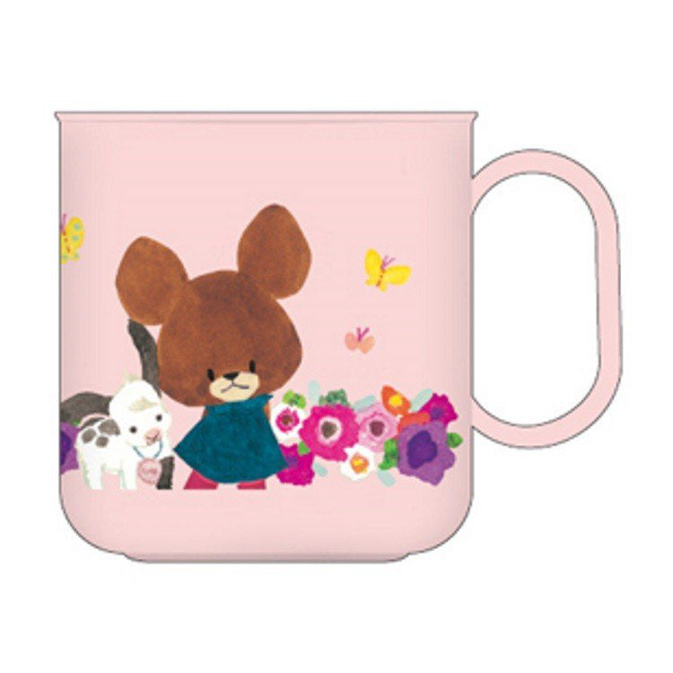 Jackie Plastic Cup 200ml Pink the bears' school Japan