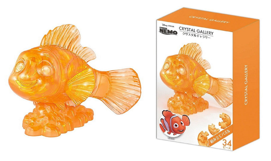 Finding Nemo 34 pcs 3D Puzzle Crystal Gallery Disney Japan Hanayama