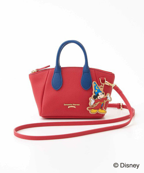Fantasia Mickey Mouse Mini Shoulder Bag Red D23 Disney Samantha Thavasa Japan