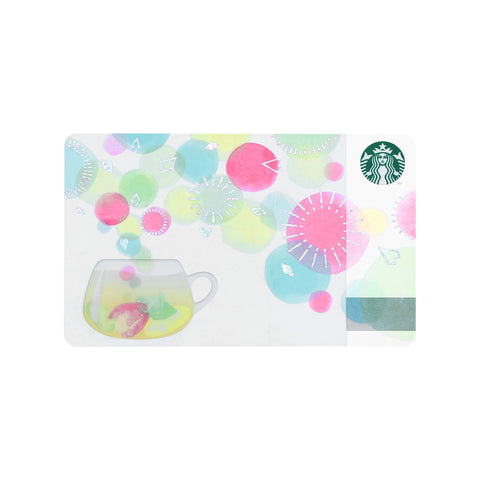 Starbucks Card Colorful Moments Starbucks Japan