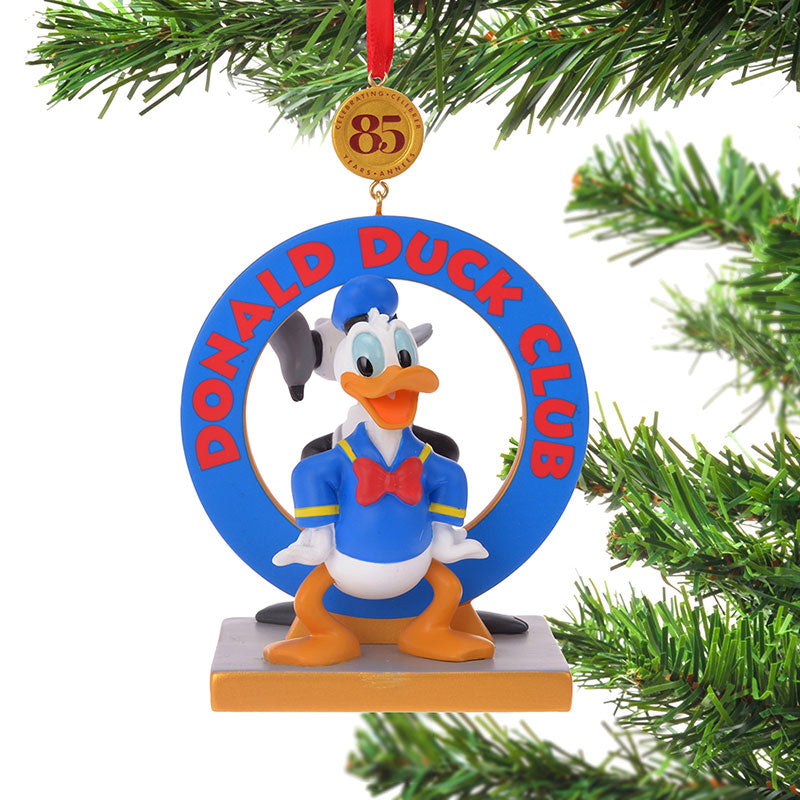 Donald Christmas Tree Ornament Legacy Disney Store Japan 2019