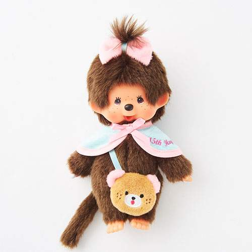 Monchhichi Doll S Girl HAPPY TRIP MONCHHICHI Japan