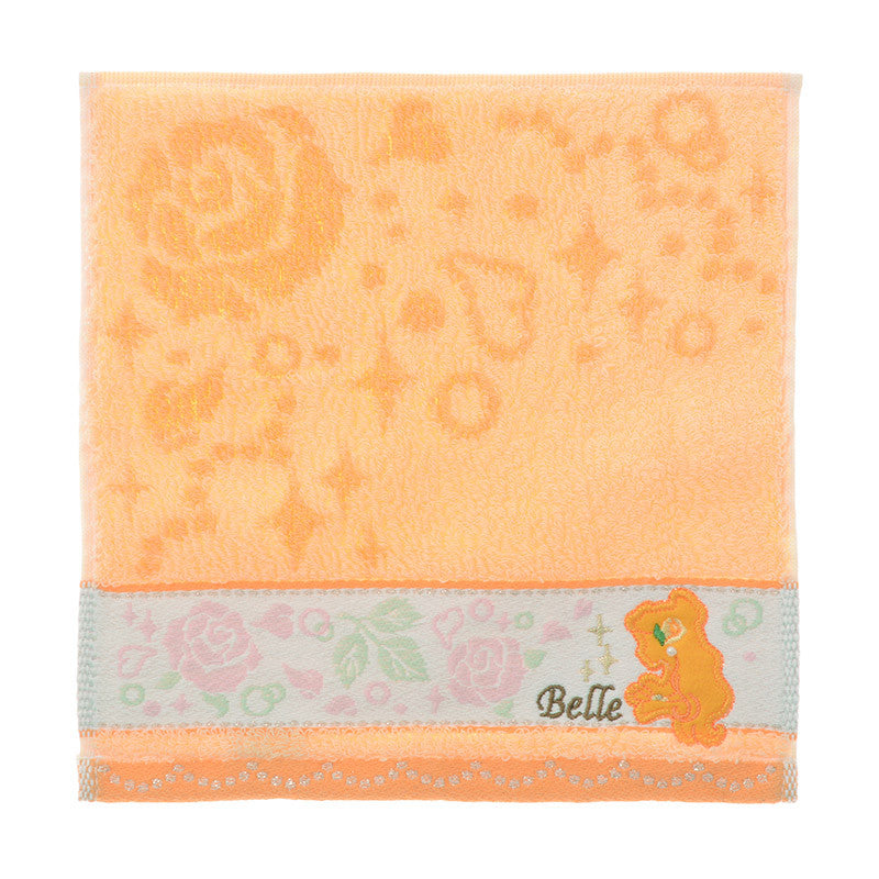 Beauty and the Beast Belle mini Towel Pearl Disney Store Japan
