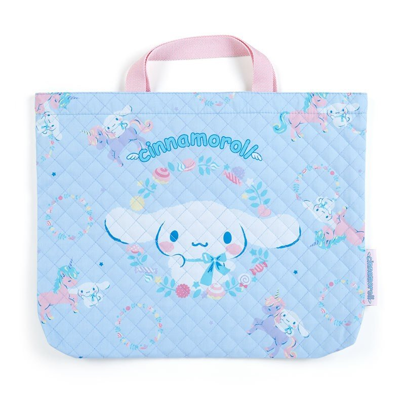 Cinnamoroll Quilting Tote Bag Unicorn Sanrio Japan