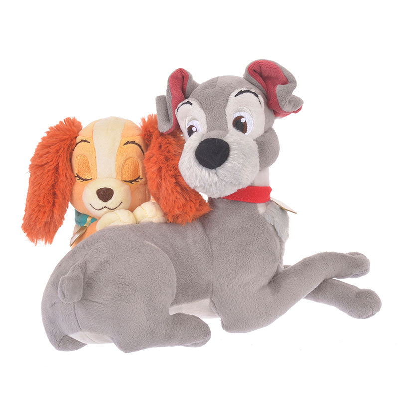Lady and the Tramp Plush Doll Hug & Smile Disney Store Japan