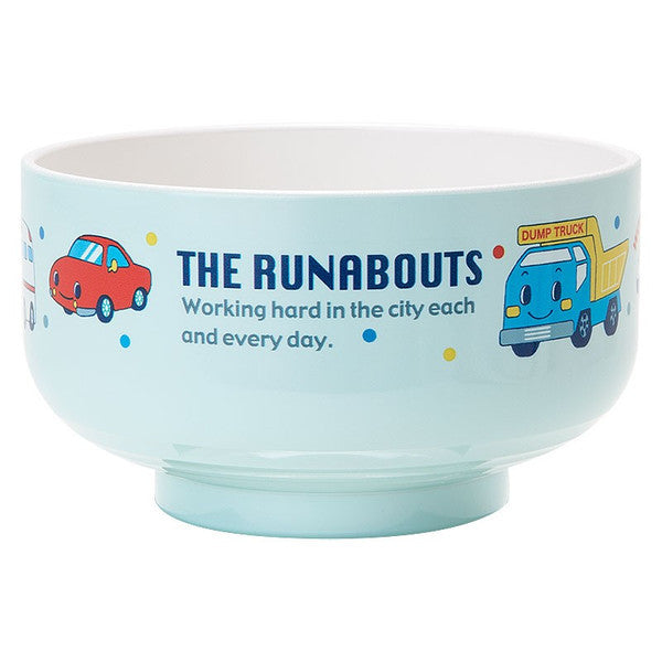 The Runabouts PET Rice Bowl Fruit Sanrio Japan