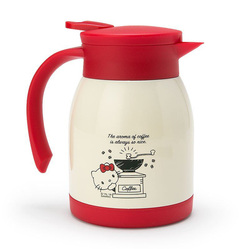 Hello Kitty Stainless Pot Coffee Time Sanrio Japan