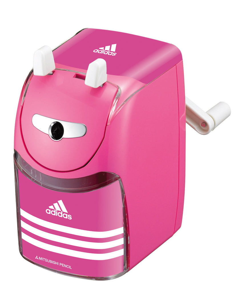 Adidas Manual Pencil Sharpener Pink KH3342 Stationery Japan Mitsibishi Pencil