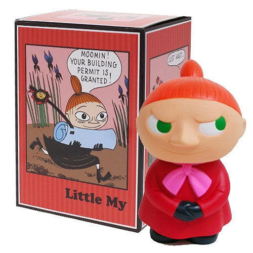 Moomin Valley Family Little My Big Piggy Bank Figure Muumipeikko Japan Gift