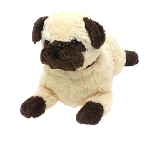 Hizawanko Dog Pug Plush Doll Beige Sunlemon Japan