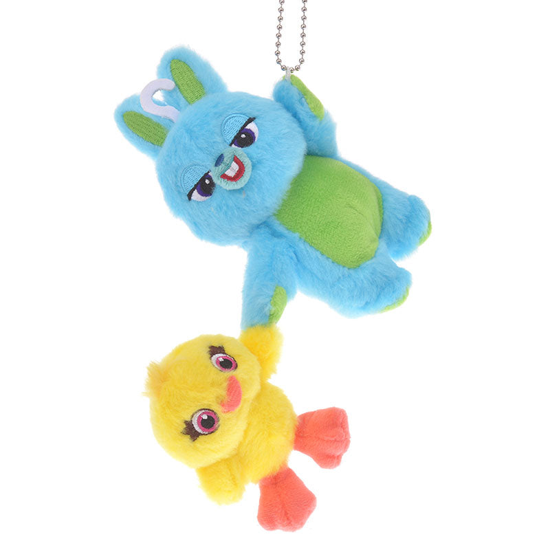 Toy Story 4 Bunny & Ducky Plush Keychain Disney Store Japan