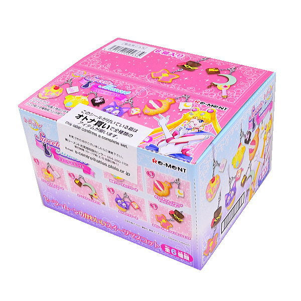 Re-ment Miniatures Sailor Moon Cafe Sweets Mascot Complete 6 SET from Japan