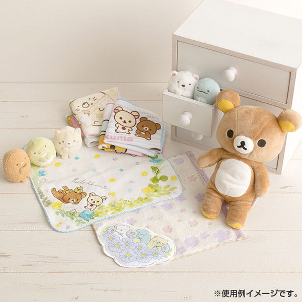 Rilakkuma mini Towel Flower Wreath San-X Japan