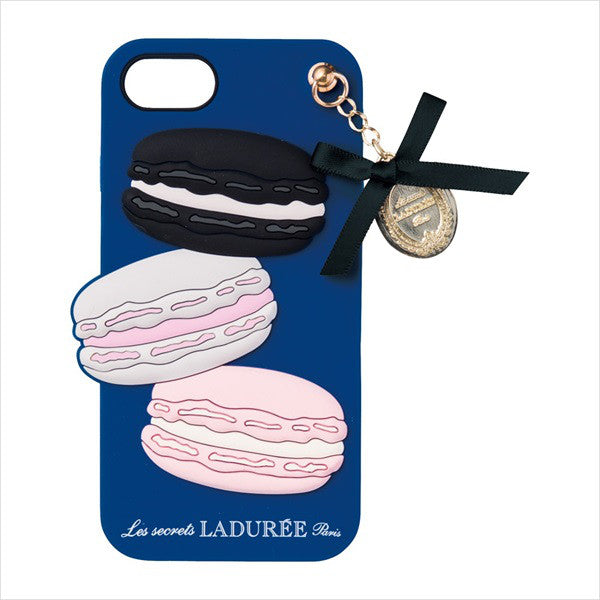 iPhone 6 6s 7 8 Case Cover Macaron Royal Blue Laduree Japan