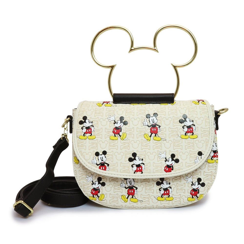 Mickey Shoulder Bag Pattern Initials Loungefly Disney Store Japan