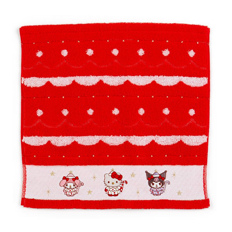 Sanrio Character Christmas Fairy mini Towel Red Japan 2020