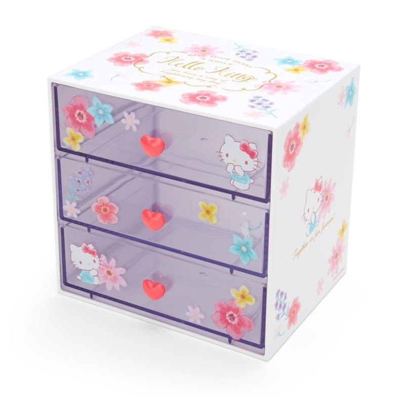 Hello Kitty Plastic Chest Happiness Girl Sanrio Japan