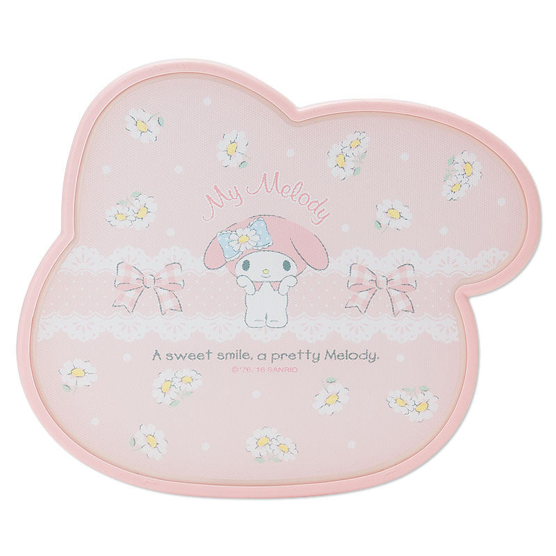 My Melody Cutting Board S Pink Face Reversible Sanrio Japan