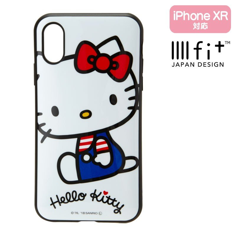 Hello Kitty iPhone XR Case Cover IIIIfi+ Sanrio Japan