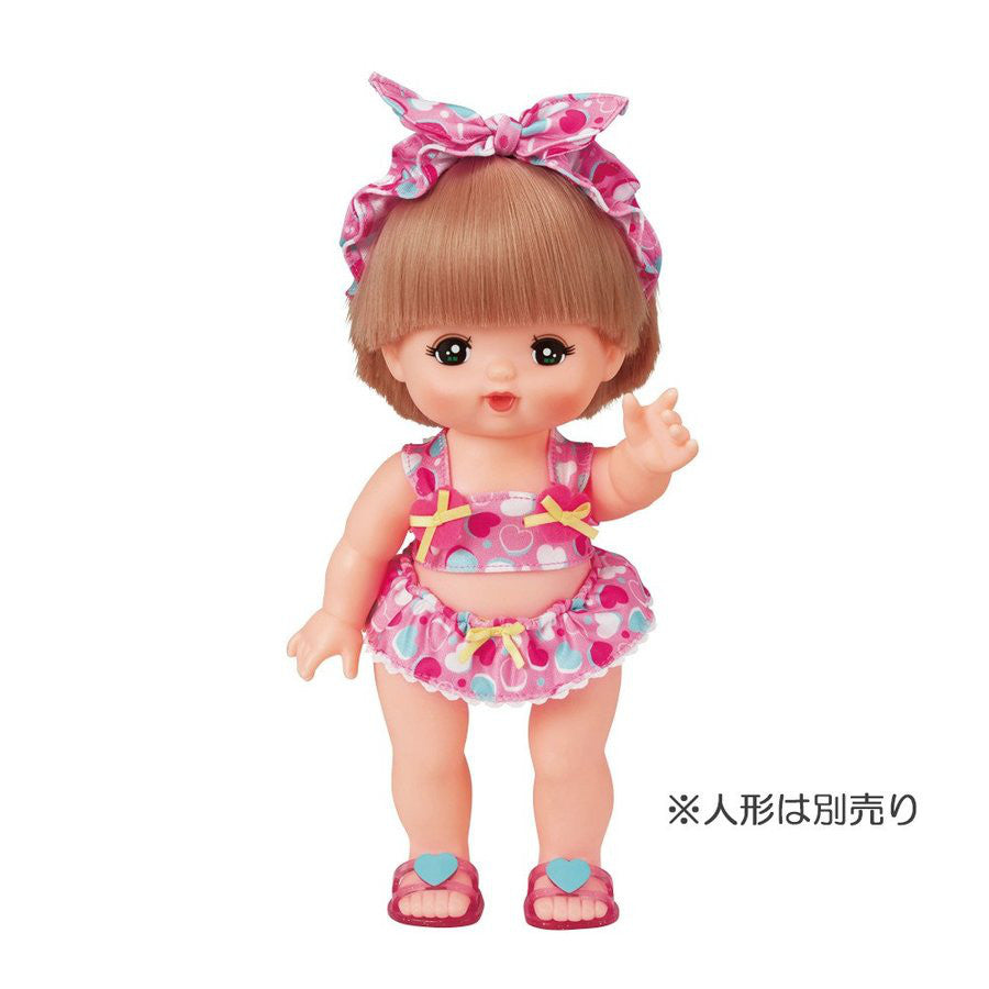 Costume for Mell Chan Heart Swimsuit Pilot Japan Pretend Play Toys