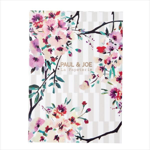 A6 Notebook Stripe Bouquet PAUL & JOE Japan