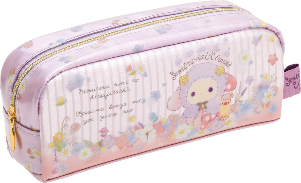 Sentimental Circus Pen Case Pouch Sleeping Forest Sheep San-X Japan PY68501