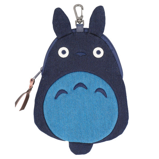 My Neighbor Totoro Big Totoro Denim Pouch Die-Cut Studio Ghibli Japan
