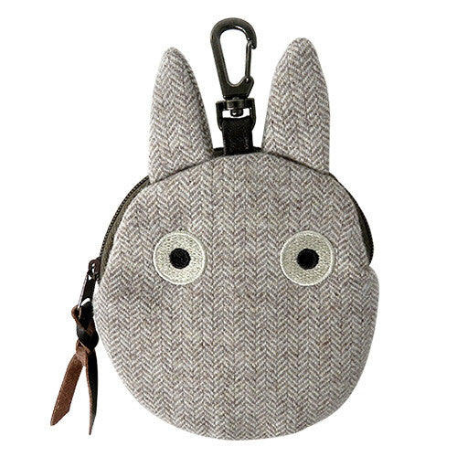 My Neighbor Totoro Small Totoro Pouch Die-Cut Tweed Studio Ghibli Japan