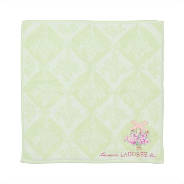 Towel handkerchief Eleonora Green Laduree Japan