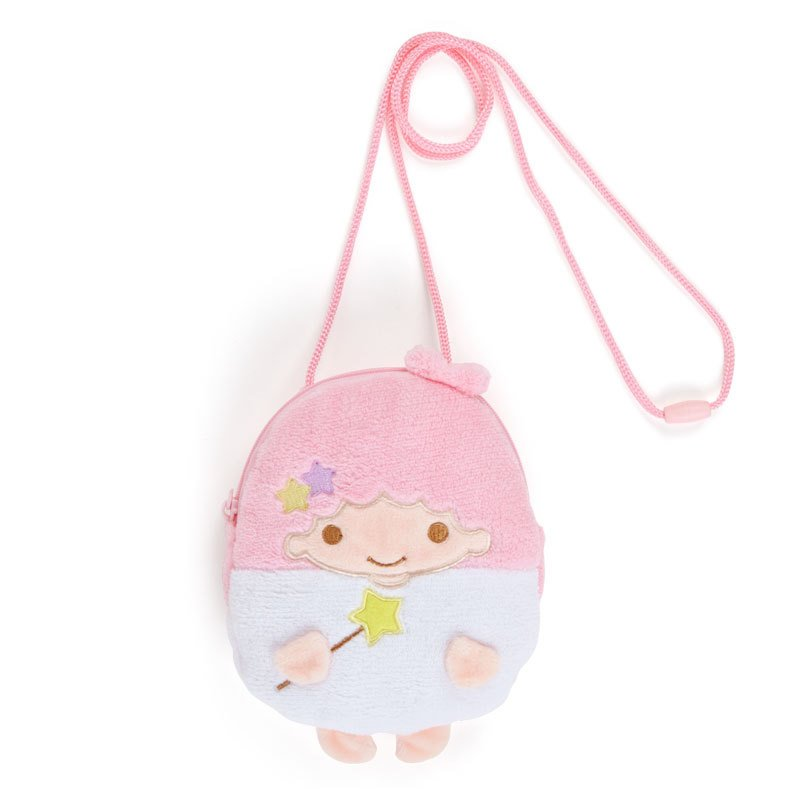 Little Twin Stars Lala Neck Pouch Character Shape Sanrio Japan