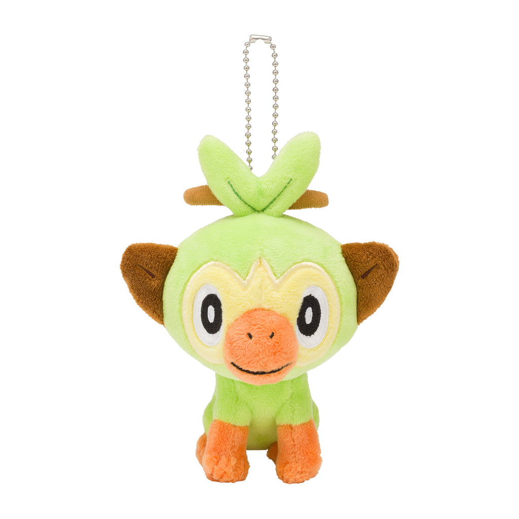 Grookey Sarunori Plush Keychain Sword Shield Pokemon Center Japan Original