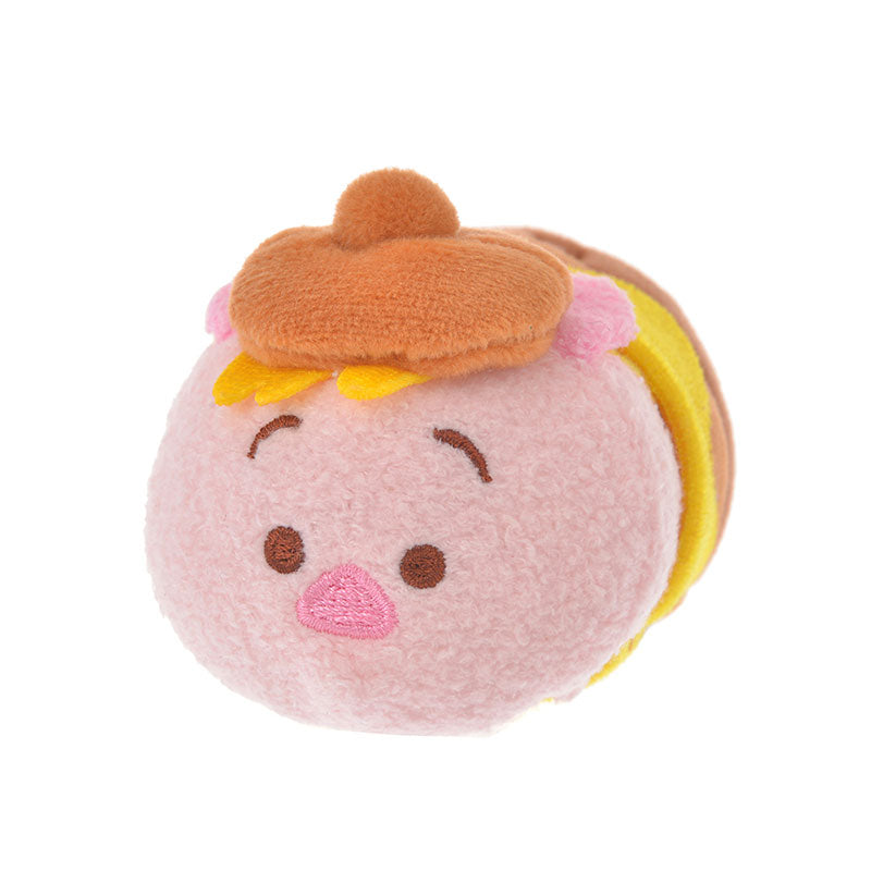 Piglet Tsum Tsum Plush Doll mini S Hunny Pot Disney Store Japan Winnie the Pooh