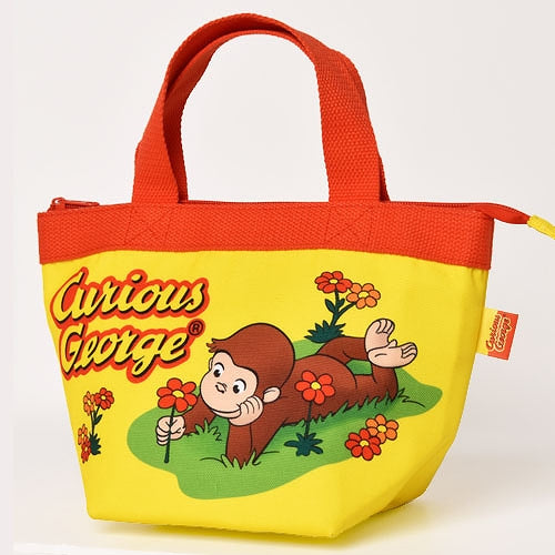 Curious George Lunch Bag Flower Japan