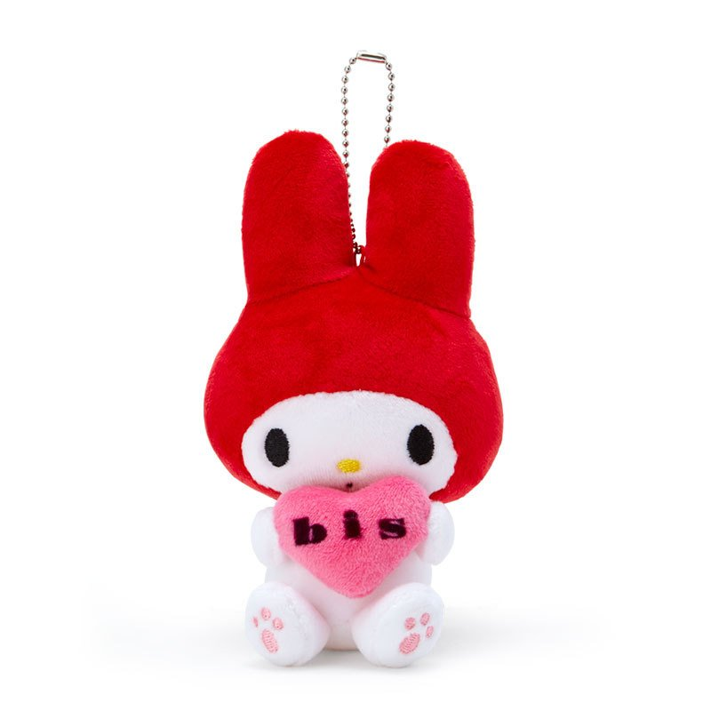 My Melody Plush Mascot Holder Keychain Munyu bis Sanrio Japan