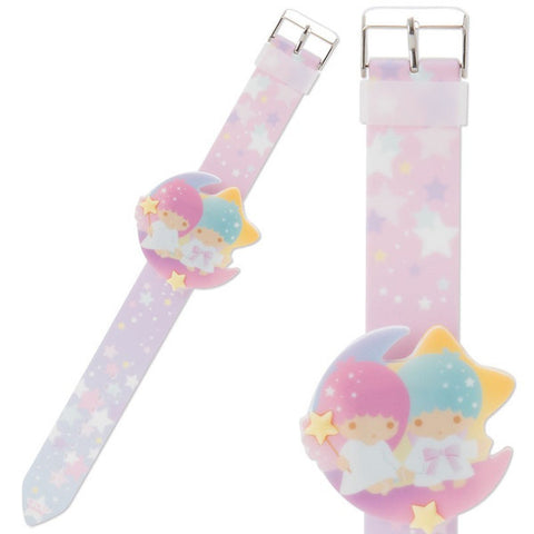 Little Twin Stars Kiki Lala Digital Silicone Watch Sanrio Japan