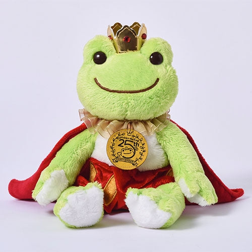 Pickles the Frog Bean Doll Plush King 25th Anniversary Japan