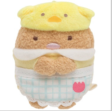 Sumikko Gurashi Tonkatsu Fried Pork mini Plush Doll Kindergarten San-X Japan