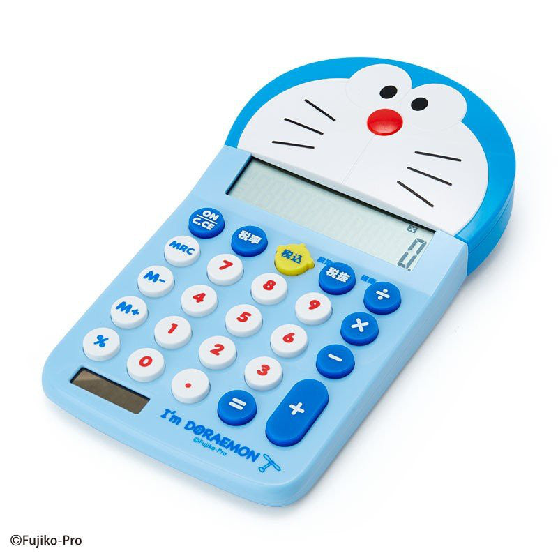 Calculator Character Shape I'm DORAEMON Sanrio Japan