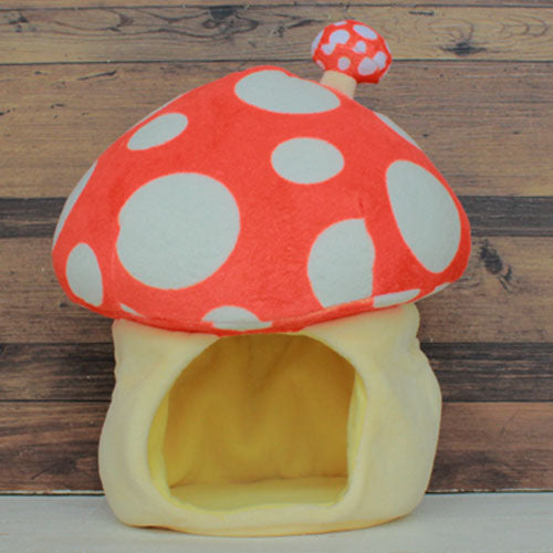 Pickles the Frog Plush Doll Mushroom House Orange Japan