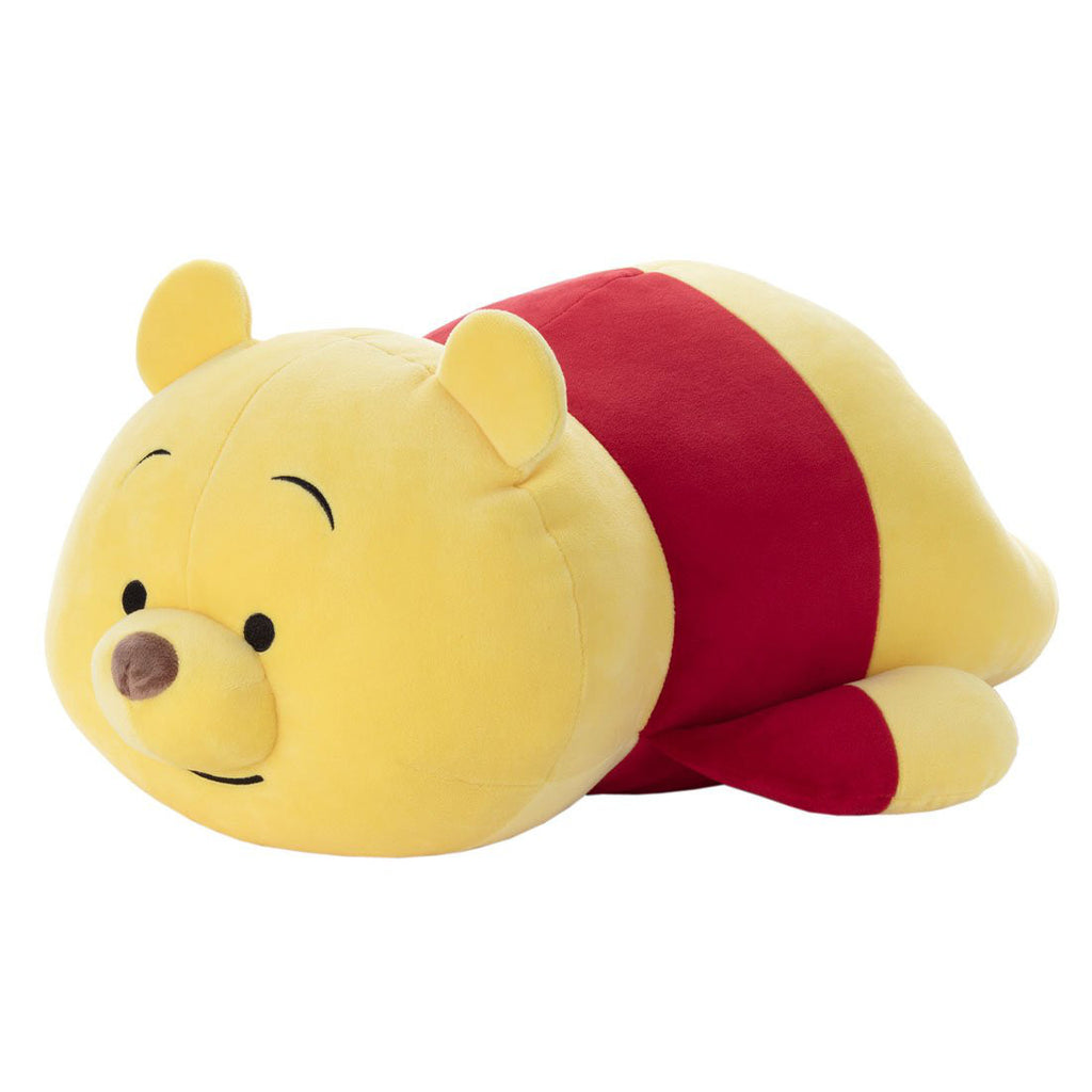 Winnie the Pooh Plush Doll Disney-Mocchi-Mocchi- M Hai Takara Tomy Japan