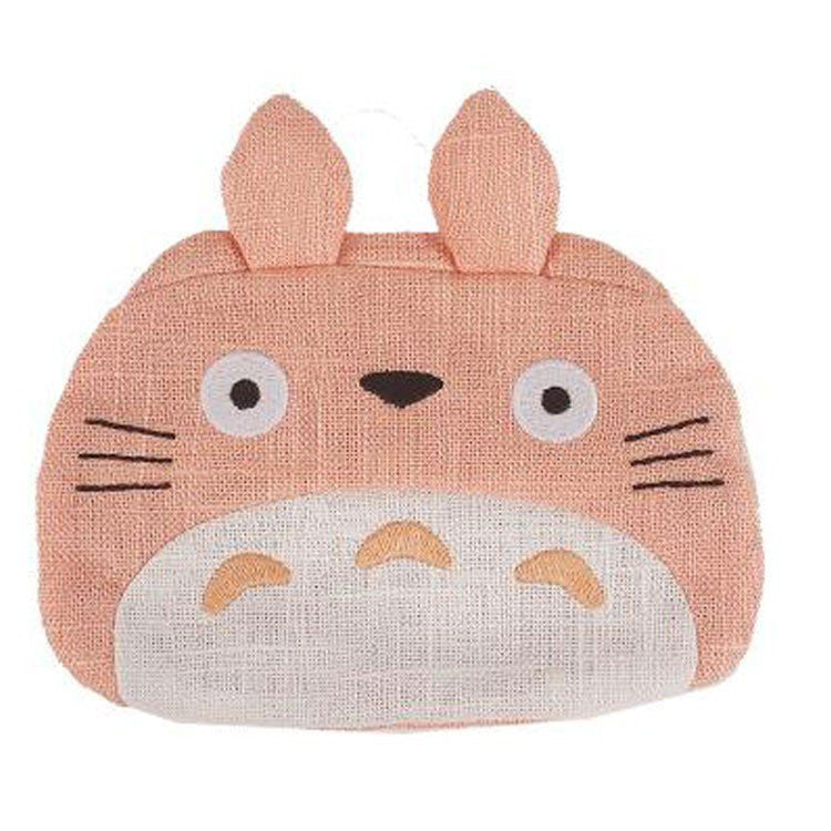My Neighbor Totoro Tissue Pouch Wa Japanese style Pink Studio Ghibli Japan