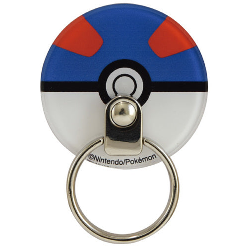 Super Ball Multi Ring for Smartphone Die-Cut Pokemon Center Japan Original