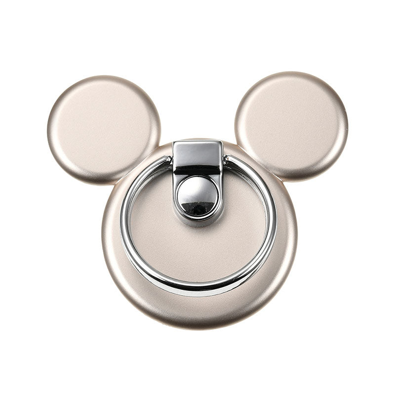 Mickey Smartphone Ring Icon Gold Disney Store Japan