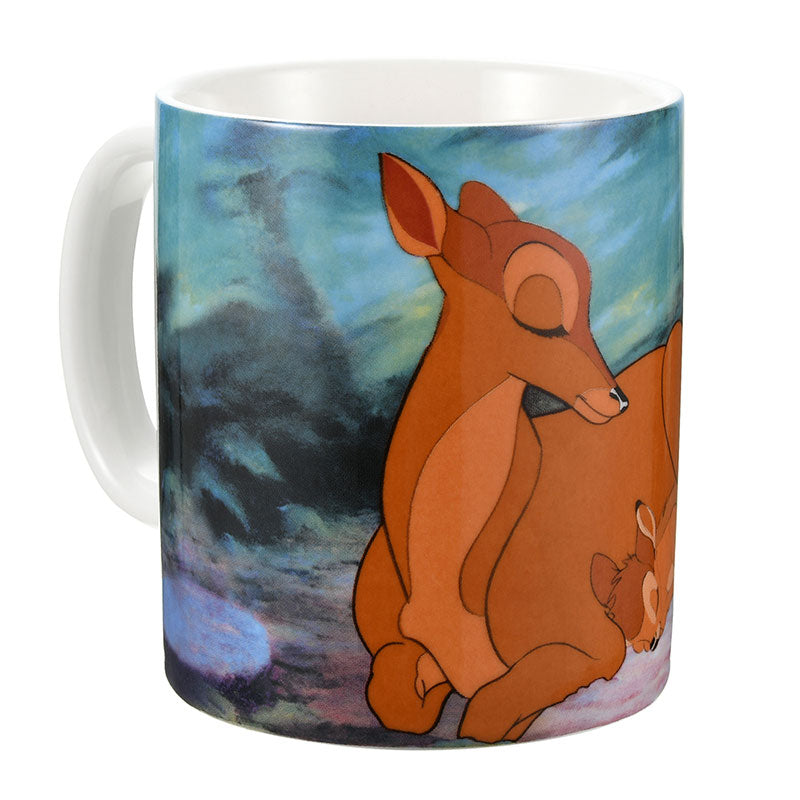 Bambi and Mother Mug Cup Sleep Day Disney Store Japan